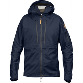Fjällräven Keb Eco-Shell Jas Heren, dark navy